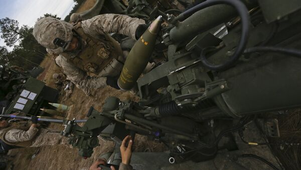 India plans to deploy the M777A2 howitzers along the Indo-China border - Sputnik International