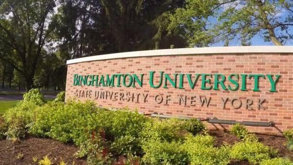 Binghamton University Sign - Sputnik International