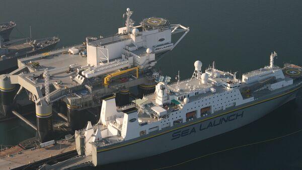Sea Launch Pad and Command Vessel - Sputnik International