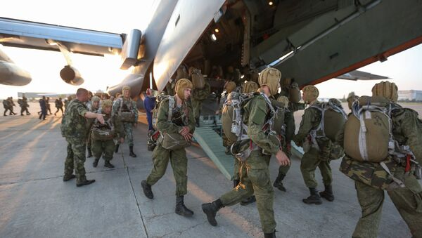 Airborne troops. File photo - Sputnik International