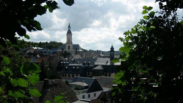View over the town of Lichtenstein/Sa. - Sputnik International