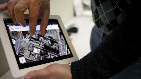 Google Maps application is demonstrated in New York (File) - Sputnik International