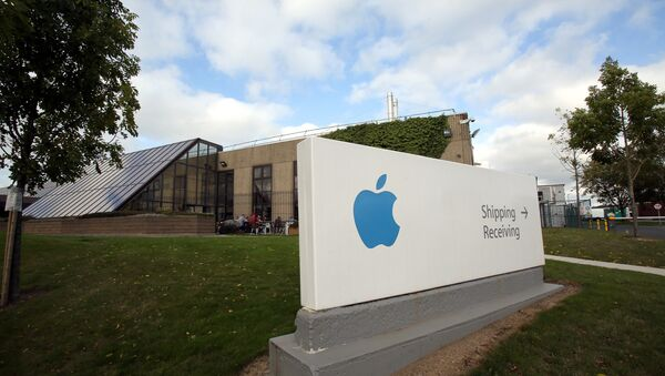 A view of buildings on The Apple campus in Cork, southern Ireland - Sputnik International