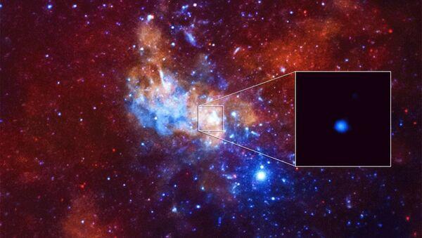Chandra Detects Record-Breaking Outburst from Milky Way's Black Hole - Sputnik International