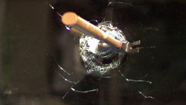 Hammer through Mirror at 120,000fps - The Slow Mo Guys - Sputnik International
