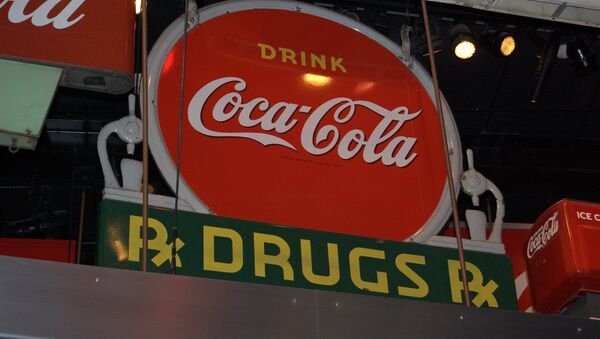 According to urban legend, the original recipe for Coca Cola included cocaine because the cocoa leaves used were not purified as they are today. Some say that trace amounts of the stimulant are still present in today's recipe - Sputnik International
