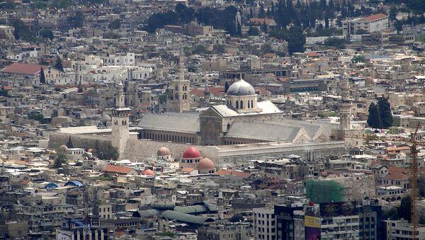 View of the Umayyad Mosque, Damascus, Syria - Sputnik International