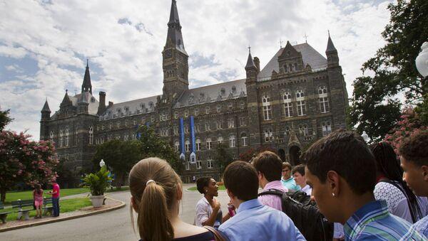 Georgetown University - Sputnik International