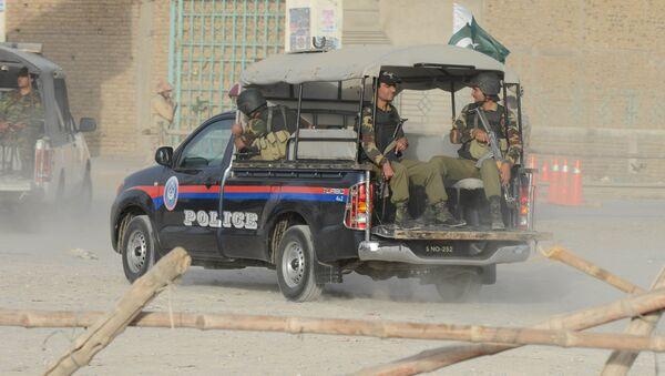 Pakistani security personnel - Sputnik International