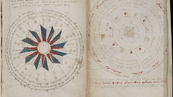 A page from the mysterious Voynich manuscript - Sputnik International