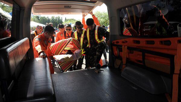Ambulance in Philippines. (File) - Sputnik International