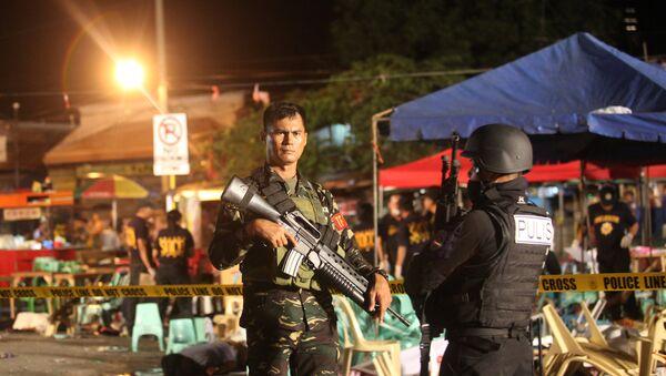 Bombing in Davao, Philippines - Sputnik International