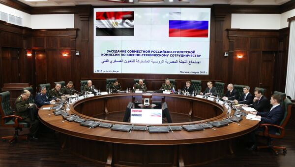 First meeting of Russian-Egyptian Commission on Military-Technical Cooperation. File photo - Sputnik International