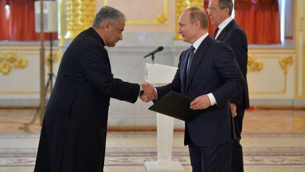 President Vladimir Putin receives letters of credence from foreign ambassadors - Sputnik International