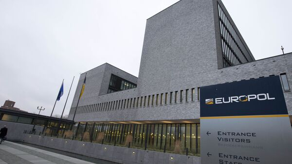 Exterior view of the Europol headquarters where participants gathered to attend the anti terror conference in The Hague, Netherlands, Monday, Jan. 11, 2016 - Sputnik International