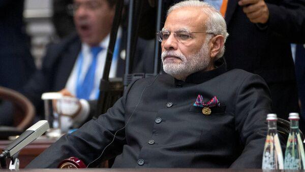 Indian Prime Minister Narendra Modi attends the G20 Summit in Hangzhou, Zhejiang province, China, September 4, 2016 - Sputnik International