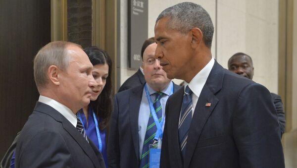 Putin and Obama at G20 Summit in Hangzhou - Sputnik International