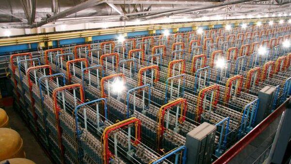 Gas centrifuges for uranium enrichment - Sputnik International