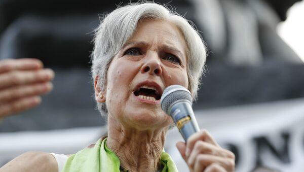 Green Party Presidential Candidate Jill Stein - Sputnik International