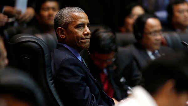 US President Barack Obama attends the East Asia Summit in Vientiane, Laos September 8, 2016 - Sputnik International