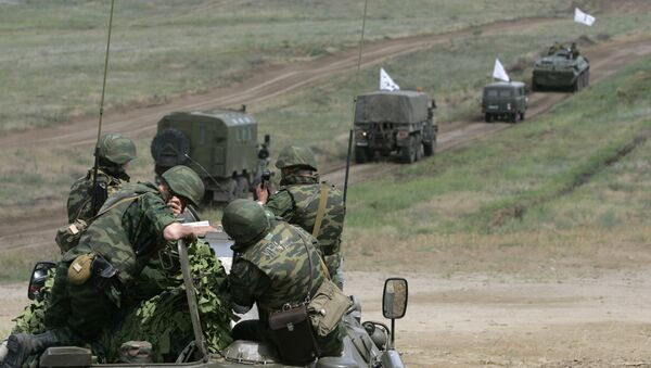 The final stage of the large-scale military drills. (File) - Sputnik International