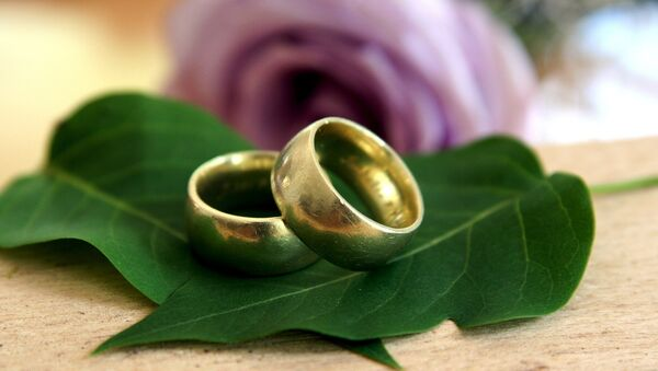 Wedding rings - Sputnik International