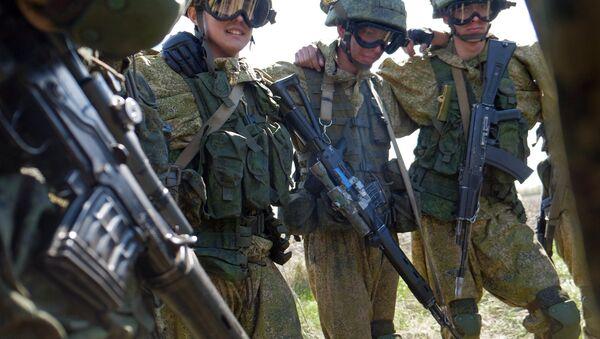 Servicemen of a special forces. (File) - Sputnik International
