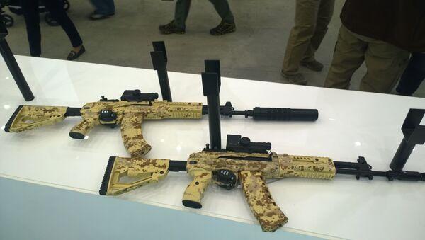 AK-15 and AK-12 - Sputnik International