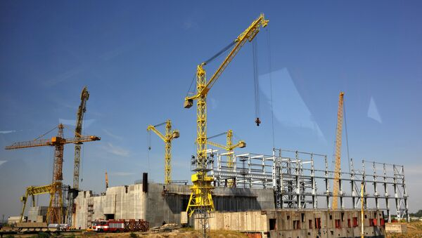Construction site of Bulgaria's second nuclear power plant in the town of Belene. (File) - Sputnik International