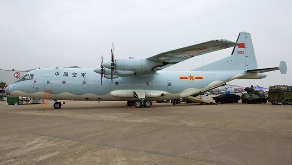 Shaanxi Y-9 aircraft - Sputnik International