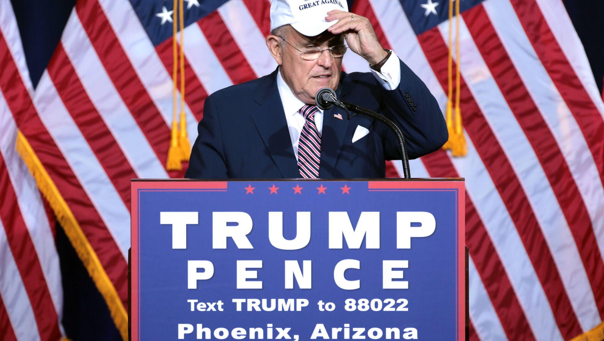 Trump Surrogate Rudy Giuliani - Sputnik International, 1920, 02.08.2021