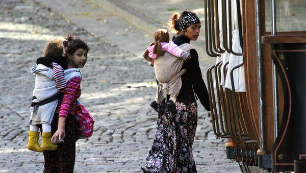 Homeless Roma - Sputnik International