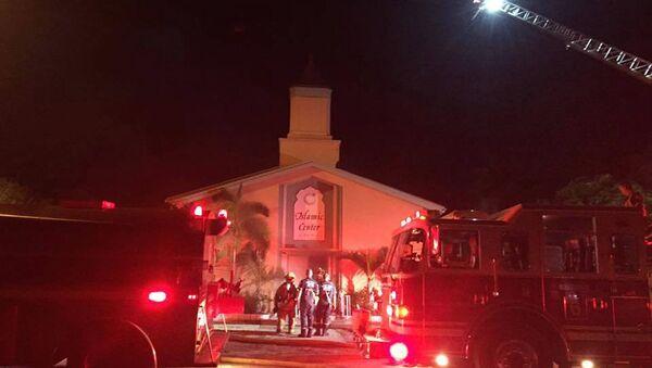 Mosque Where Orlando Gunman Prayed Goes Up in Flames - Sputnik International