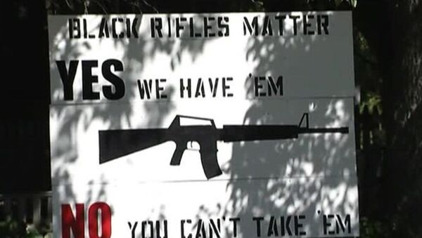 'Black Rifles Matter' Sign Causes Controversy in Maine - Sputnik International