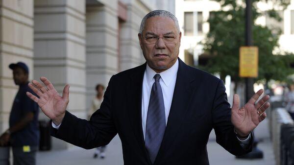 Former Secretary of State Colin Powell is seen in Washington. - Sputnik International