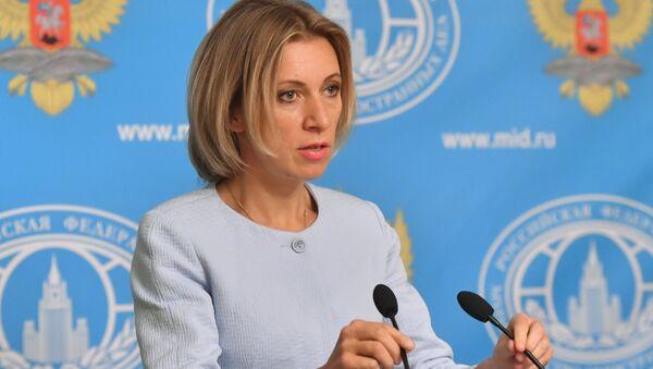 Briefing with Russian Foreign Ministry Spokesperson Maria Zakharova - Sputnik International