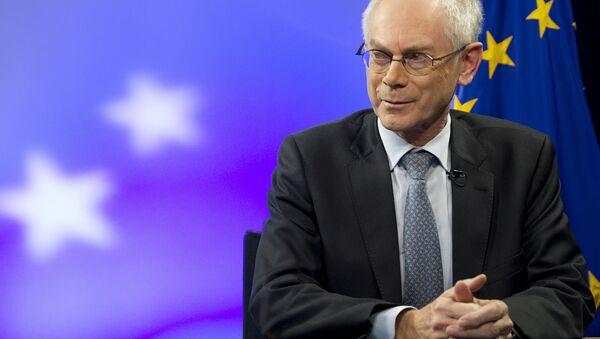 Former European Council President Herman Van Rompuy - Sputnik International