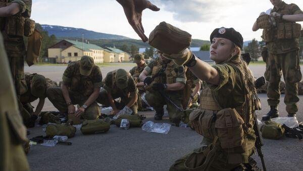 First Female Recruits of Norway's Army - Sputnik International
