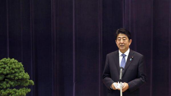 Japanese Prime Minister Shinzo Abe - Sputnik International
