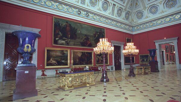 The Hall of Italian Art of XVII-XVIII centuries at the State Hermitage in St. Petersburg. (File) - Sputnik International