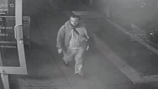 Ahmad Khan Rahami, who is wanted for questioning in connection with an explosion in New York City, is seen in this image taken from video, released by the New Jersey State Police - Sputnik International