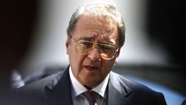 Russian Middle East envoy Mikhail Bogdanov. (File) - Sputnik International