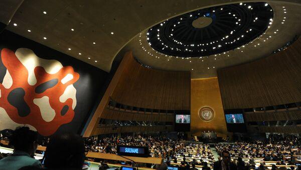 The hall of the UN General Assembly. (File) - Sputnik International