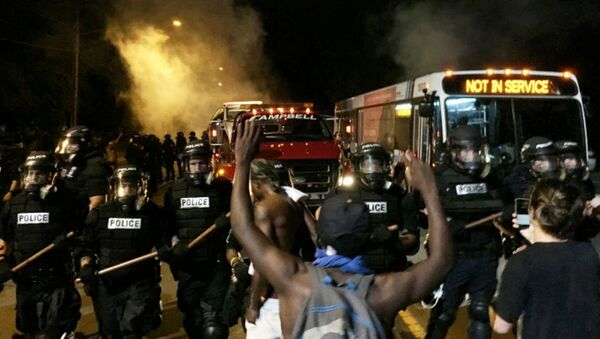 Charlotte Protest Police Shooting of Keith Lamont Scott - Sputnik International