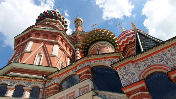 St Basil's Catedral, Red Square, Moscow - Sputnik International
