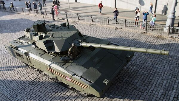 Main battle tank T-14 - Sputnik International