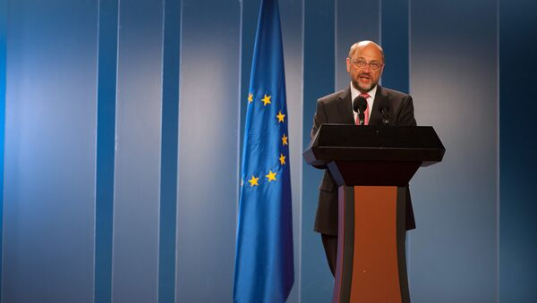 European Parliament President Martin Schulz - Sputnik International