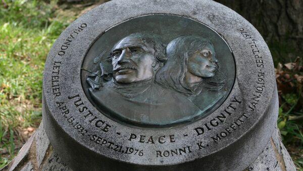 Orlando Letelier / Ronni K Moffit Memorial - Sputnik International