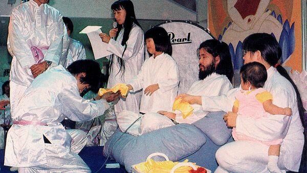 Shoko Asahara, leader of the Aum Shinrikyo doomsday cult - Sputnik International