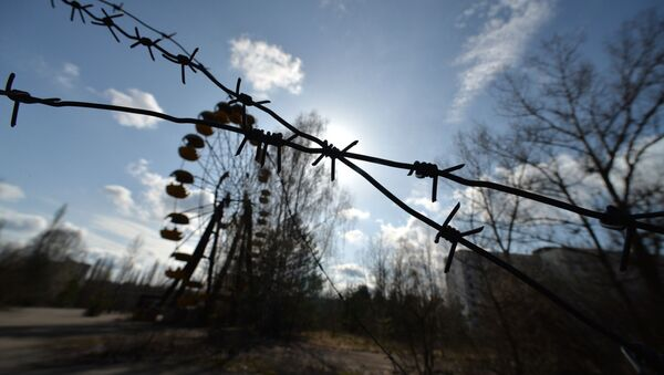 The city of Pripyat located in the Chernobyl exclusion zone. - Sputnik International
